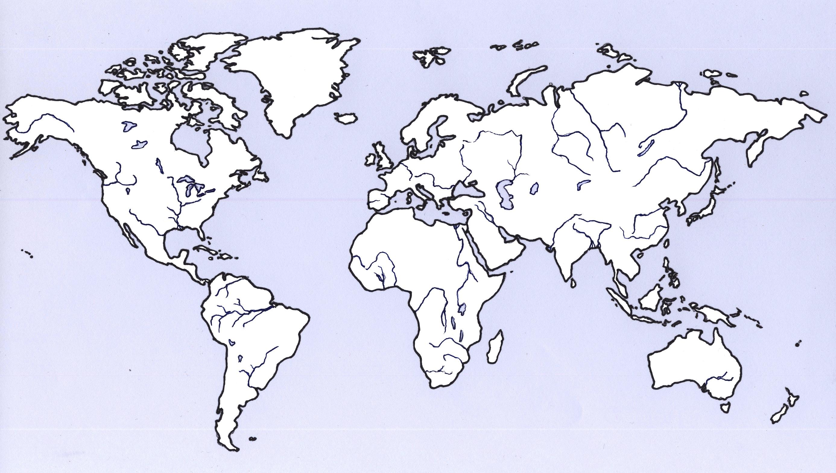 karta sveta sa kontinentima Osnovna škola Šestine Zagreb   Geografija karta sveta sa kontinentima